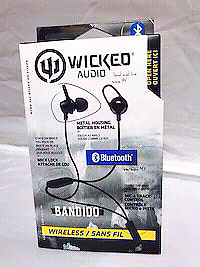 Wicked audio bandido Bluetooth wireless earbuds