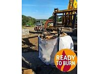 🔥 kiln-dried logs 🔥 READY TO BURN
