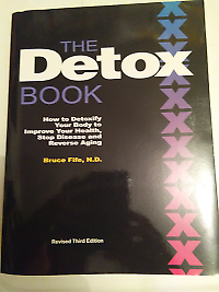 The Detox Book by Dr Bruce Fife, N.D., was $48.49, now $45.00