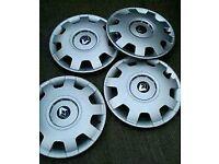 "Renault 16"" Wheel trims. 4 new wheel trims/ covers"