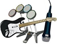 Rock Band 2: Drums, Guitar and Mic (no game)