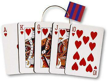 Big Gift Bags (Big Royal Flush XLarge Die Cut Gift Bags Pack / 6  Gambling Vegas Party)