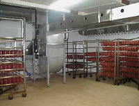 open your production plant for meat halal , fish, pasta,cheese