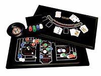 Casino House 3 In 1 Game Set (Roulette/Black Jack/Craps) - Large
