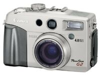 Canon G2 camera mint condition perfect working