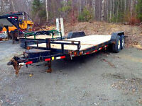 2007 Loadtrail TD204 Equipment Trailer