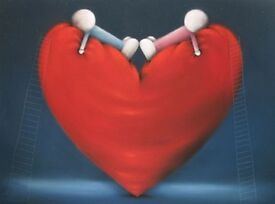 Doug Hyde 'High on Love' limited edition print