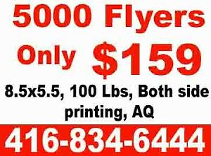 $159 for 5000 Flyers