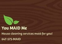 You MAID Me - House & Business Cleaning Services
