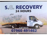 Recovery service also CASH PAID for CARS