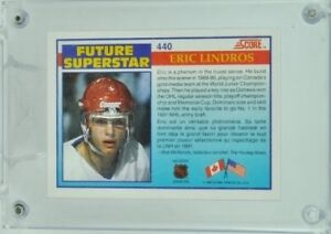 Eric Lindros Rookie Card Peterborough Peterborough Area image 2