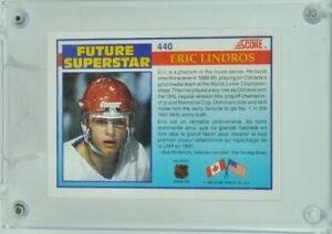 Eric Lindros Rookie Card Peterborough Peterborough Area image 2
