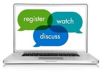 Educational Webinars - FREE & Attended from Home!