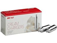 Mosa Cream Chargers £10 a box