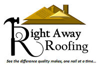 SAVE YOUR MONEY! Right Away Roofing - As low as $30 a bundle!