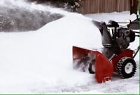 Residential Snow Clearing Services