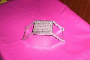 vintage stainless steel french fry cutter potato
