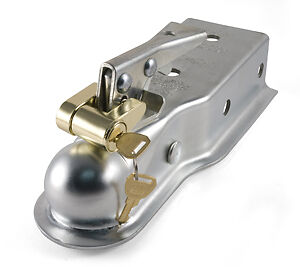 Brass Trailer Coupler Padlock