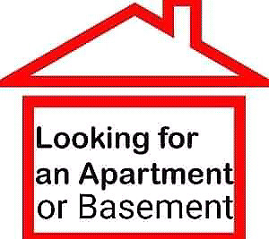 Looking for Apartment/Basement