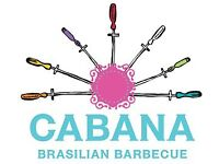 Cabana in Stratford are looking for an Assistant Manager! up to £24k + great staff benefits!