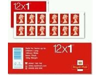 Royal Mail stamps (min 40 books)