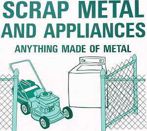 FREE APPLIANCE AND SCRAP METAL PICKUP MAPLE WOODBRIDGE AREA