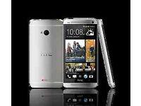 "HTC one M7 locked /unlock beats audio smartphone Android LTE 32GB 4.7"" screen Unlocked"