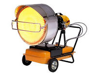 New VAL 6 EP6JA Industrial Diesel/Kerosene Portable Radiant Infrared Blow Heater