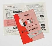 1957 Chevy Owners Manual