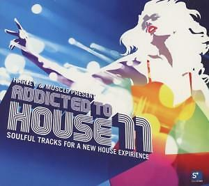 HARLEY & MUSCLE DJ (VARIOUS)-Addicted to House 11  CD NEU