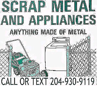 COMMUNITY  SCRAP METAL REMOVAL SERVICE