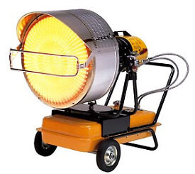 New VAL 6 EP6JA Industrial Diesel/Kerosene Portable Radiant Infrared Blow Heater