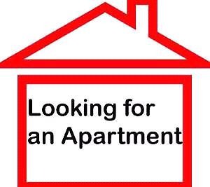 Young couple looking for apartment for August 1st