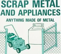 FREE APPLIANCE AND METAL REMOVAL