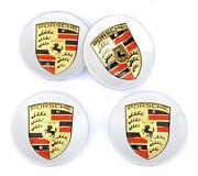 Porsche Center Caps