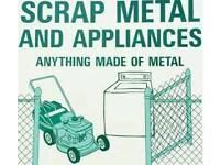 ALL SCRAP METAL WANTED