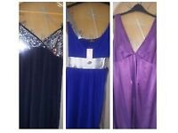 x3 Dresses Size 12 - All in Excellent Condition & Brand New £12 the lot