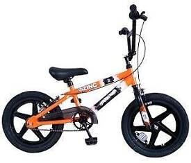 16 inch kids bmx bike suitable for ages 5 amd over