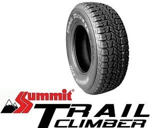 New 4X4 Tyres Brisbane 225/75 16 Summit Trail Climber Free Fitting & Balancing