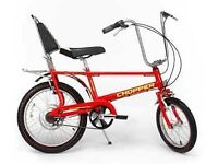 Raleigh chopper mark 3 red