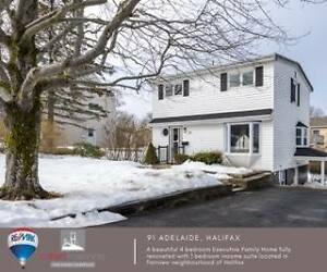 Fully Renovated Two Storey Executive Family Home in Fairview
