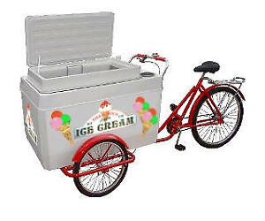Mobile ice cream bike looking for Downtown Halifax storage!