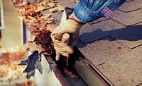 Eavestrough Cleaning and Repairs!!!