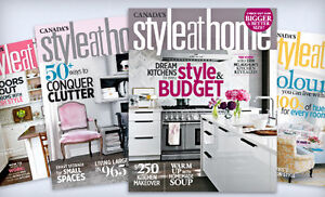Style at Home and House Beautiful Decorating Magazines