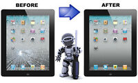 iPad 2/3/4/Mini/Air iPod Touch4 Screen Repair from$55