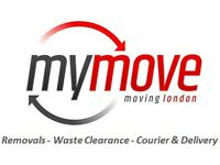 My Move Removals, Man & Van, 08005999858, House, Office & Rubbish Clearance, Cheap, 24 Hour, London