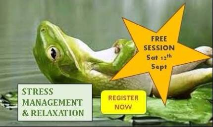 FREE Session - Stress Management & Relaxation with a Psychologist Black Rock Bayside Area Preview