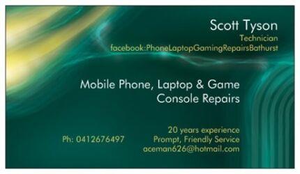 Mobile Phone Repairs/Laptop/Game Console Repairs - BATHURST Llanarth Bathurst City Preview