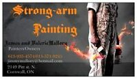 Strong-Arm Painting