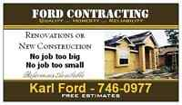 Ford Contracting Ltd Home Renovations